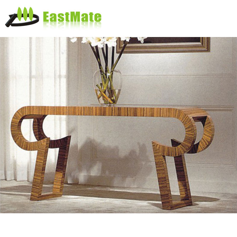 Wholesale hotel public area antique console table with mirror