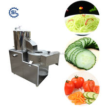 Electric Vegetable Slicer / Popular Vegetable Cutting Machine