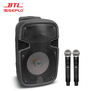 BTL Professional Multifunctional rechargeable blue tooth trolley speaker PA-8010