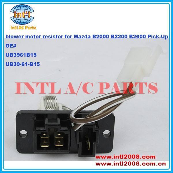 Mazda BBM4-61-B15 HVAC Blower Motor Resistor