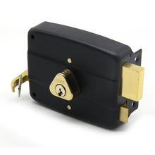 Brass lock cylinder anti-theft rim Middle East door rim lock