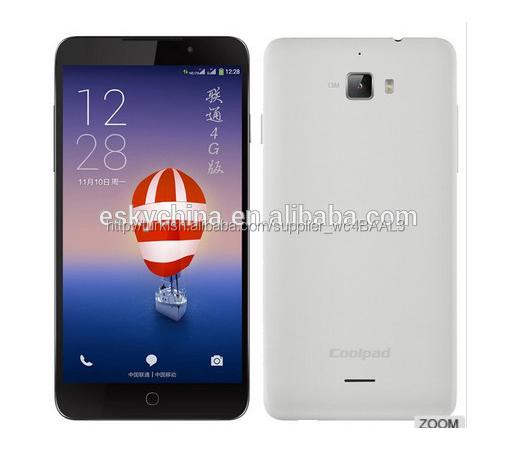 4g akıllı telefon 5.0 inç android4.4 Coolpad f1 artı( 8297- W01) 1gb/8gb dört- çekirdekli mobil telefonu