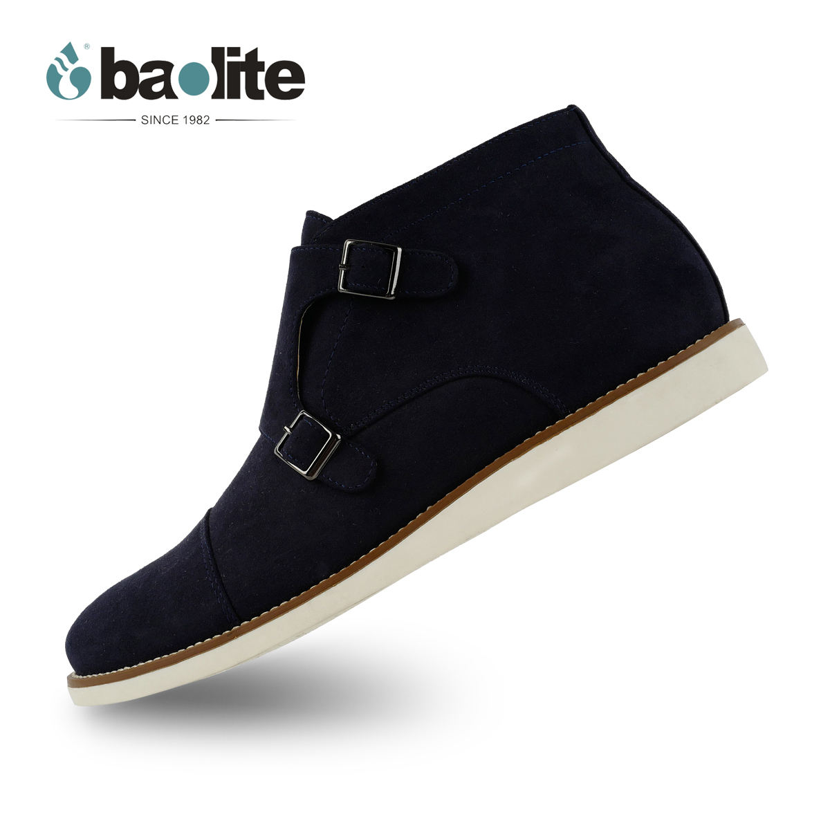 Baolite New style ankle boots PU men shoes Chelsea casual boots