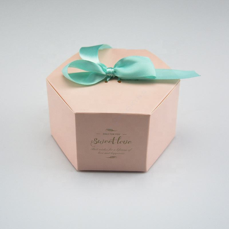 Customized craft candy paper gift box wedding packaging