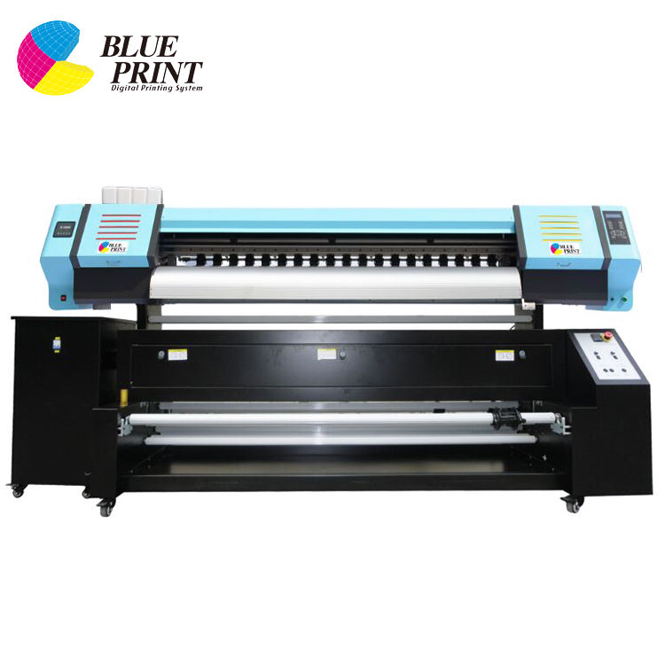 Large format sublimation printer for textile printing