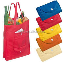 Eco friendly shopping non woven folding bags