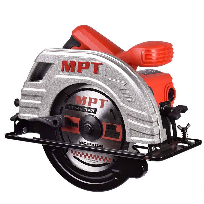 MPT 185mm superior power tools electric saw circular saw