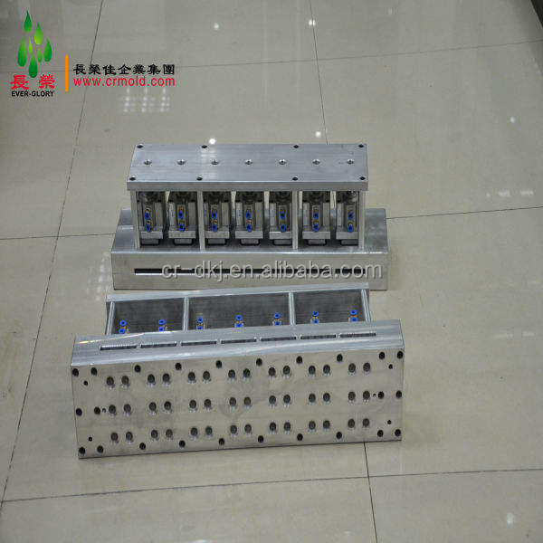 plastic soft tube round hole punching machine