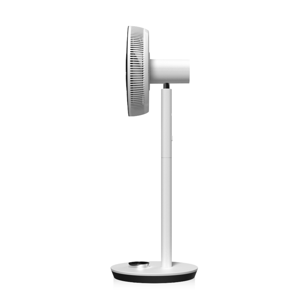 Floor Standing Stand Fan Electrical Microcomputer Floor 12V DC Brushless Pedestal Table Portable Bladeless Electric Stand Fan