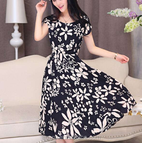 1.65 USD WQ027 High quality elastic ice silk cool 2018 summer sexy dress women dresses