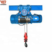 Lifting equipment CD1 type 3 Ton Electric Steel Cable hoist Wire Rope Hoist
