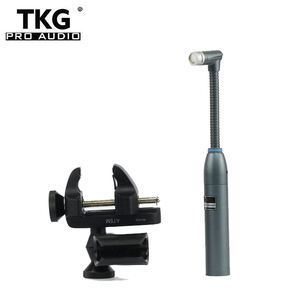 TKG Professional BETA98AMP Flexible Gooseneck BETA98 Cardioid Condenser Instrument Percussion Microphone Mic For Toms Snare Drum