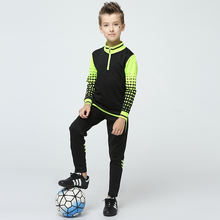 Boys Autumn Quick Dry Breathable Outdoor Sports Training Suits Children Soccer Club Jogging Wear Kids Long Sleeve Tracksuits