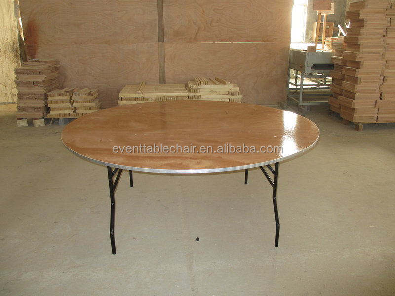 Party And Event Used Popular Plywood Banquet Folding Tables For Sale
