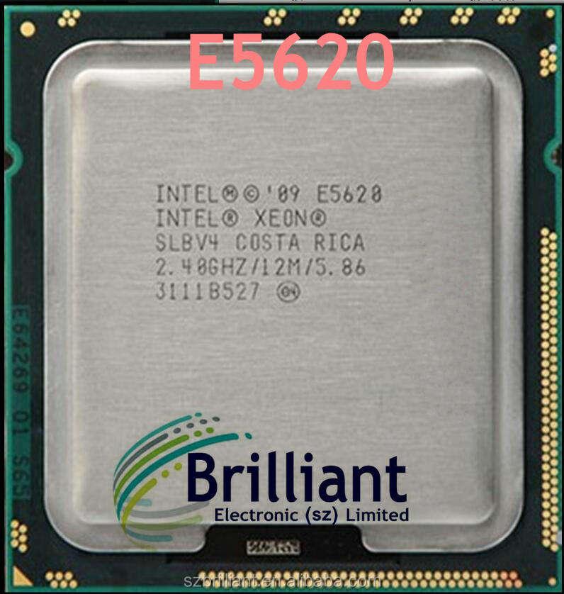 588072-B21 HP XEON E5620 QUAD CORE 2.40GHz 12M 5.86GT//s PROC KIT FOR DL360 G7