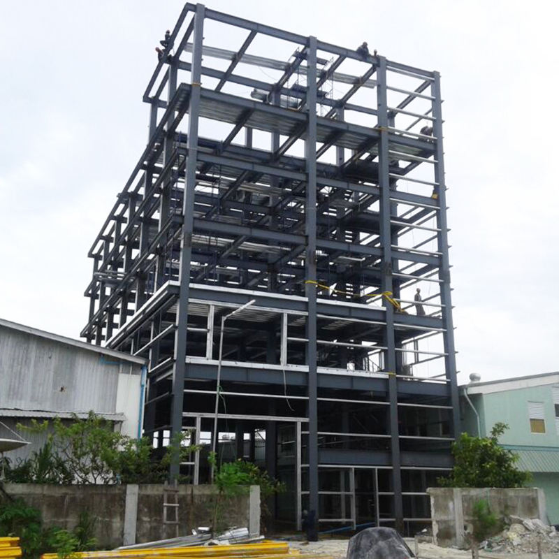 Free design prefabricated steel structure building widely used for warehouse/workshop