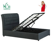 Free Sample Bed Frame With Storage Twin California King
