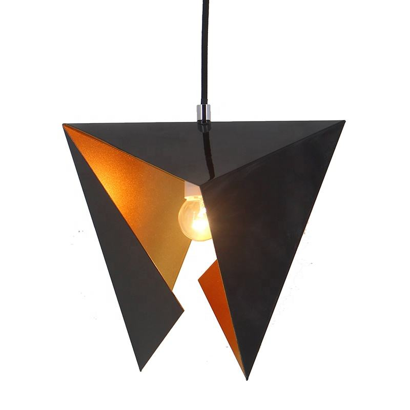 Fancy Hanging industrial pendant light vintage lamp interior pendant light Geometry