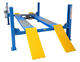 Portable used four post hydraulic car lift/4post car lift movable used wheel alignment lift for sale
