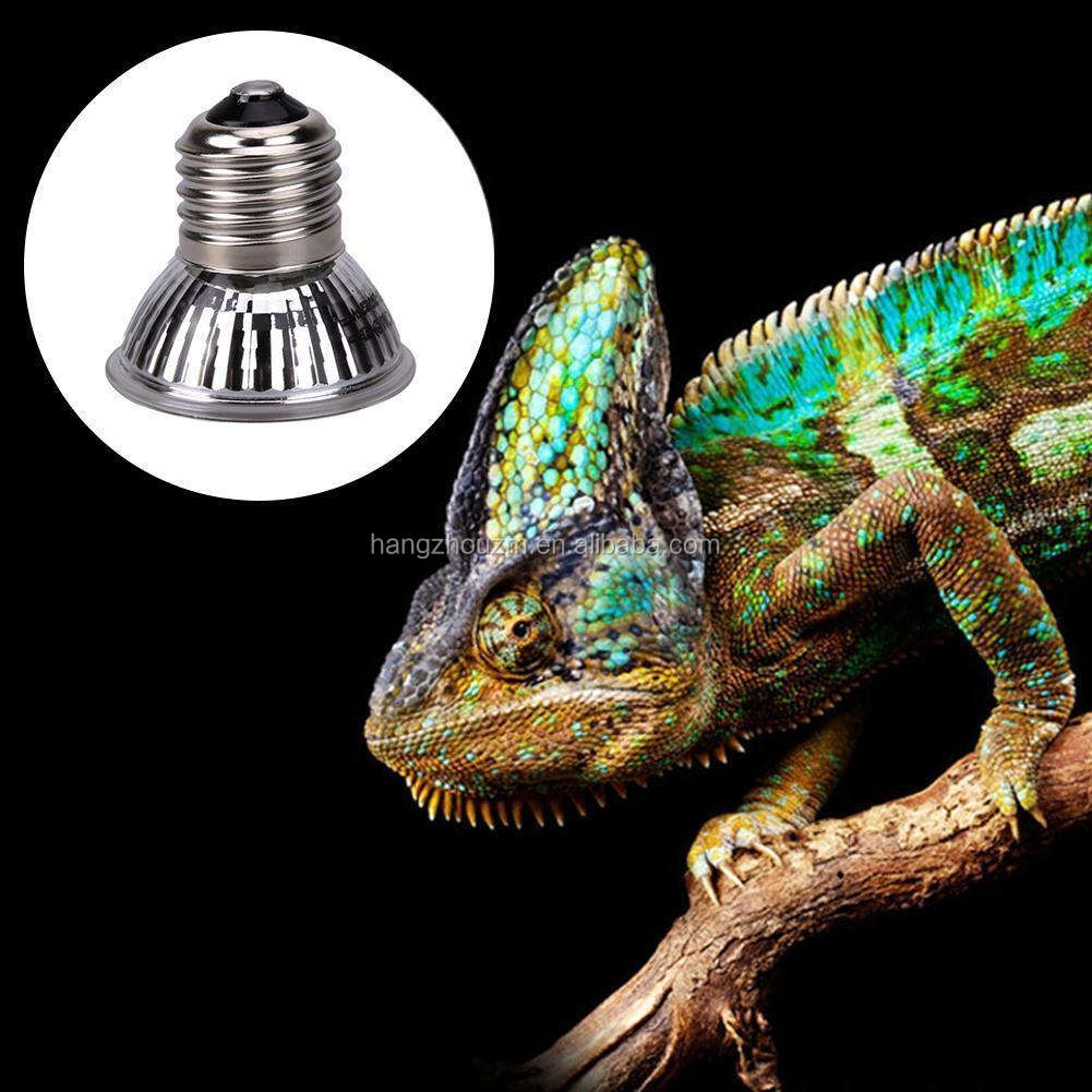 UVA UVB 3.0 Heated Light Reptile Bulb UVB Lamp For Pet Halogen Bulb 25/50/75W