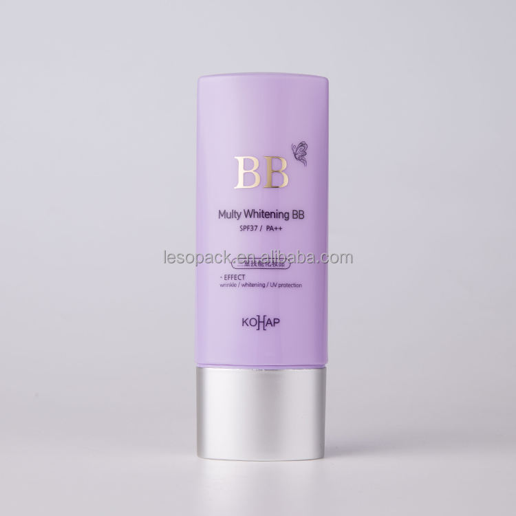 30ml BB Cream Multi Layer Sun Protector Container Silkscreen Printing Tottle Bottle