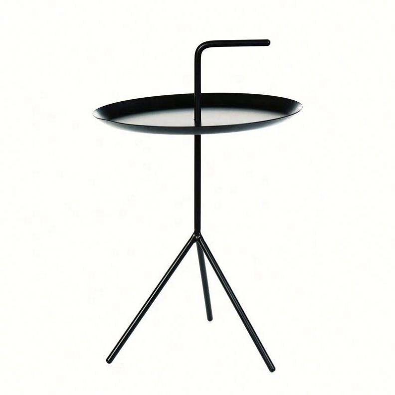 Çin tedarikçiler oturma odası mobilya Yuvarlak 3 bacaklar modern Alüminyum Çatı aynalı gövde sehpa