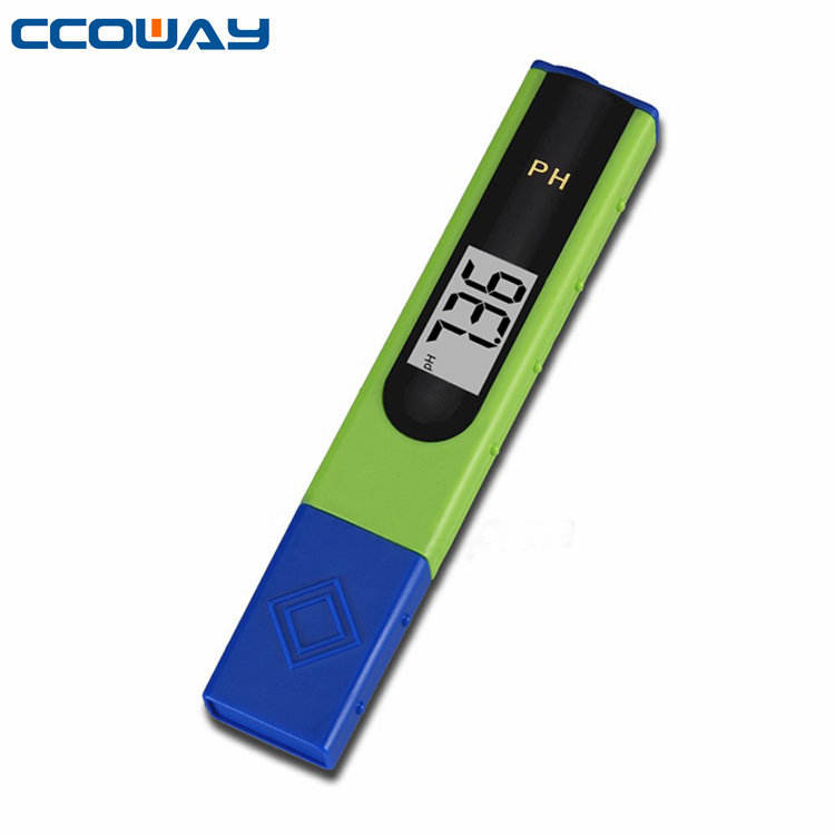 CE and ROHS certification LCD display multifunction hign quality digital water ph test meter