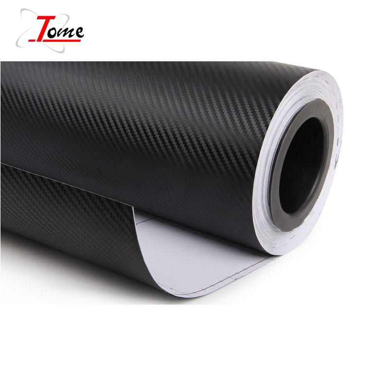 3D Pvc carbon fiber vinyl/vinil for car body stickers