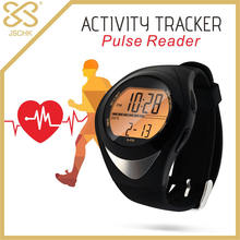 Jasonic Water Resistant Quick Touch Heart Rate Monitor Multifunction Watch Fashion Pedometer Digital Fitness For Outdoor