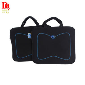 Hot-selling promotie custom neopreen 17 inch laptop tas met handvat