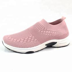 2018 Fashion new arrival hot sale flyknit shoes for women daily wear