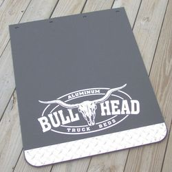 logo printed motorcycle rubber mud flaps