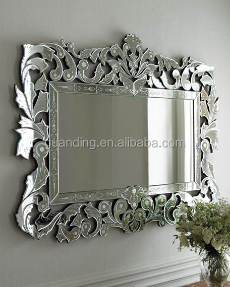 etched and beveled venetian glass mirrors