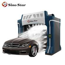 Cheapest China rollover car wash machine/fashionable and practical auto washing equipment/car cleaning(S7)