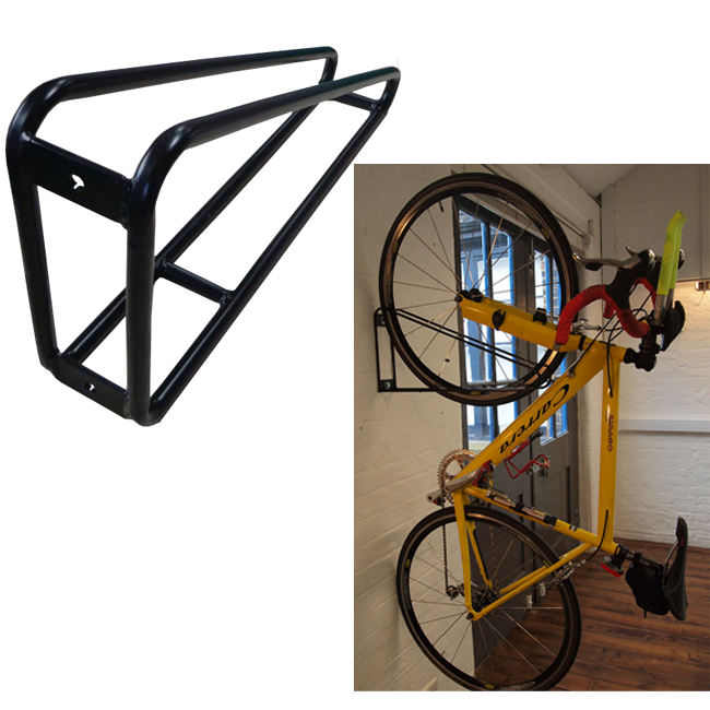 Wall Mounted Single Vertical Hanging Bike Rack