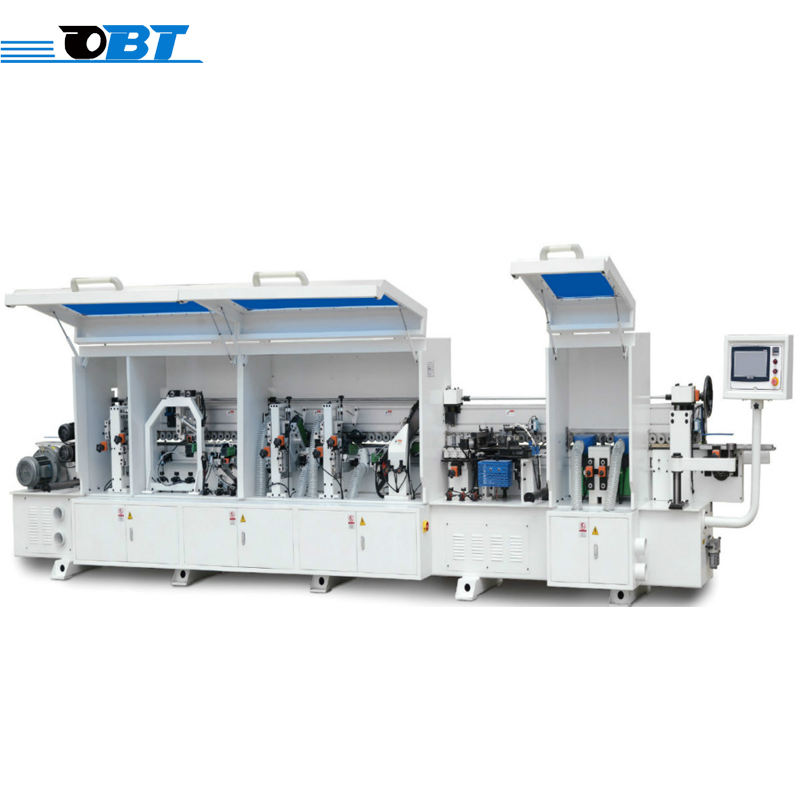 Pre-milling automatic straight pvc edge banding binding machine for woodworking