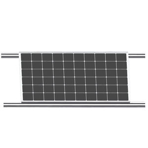 72W thin film bipv solar panel