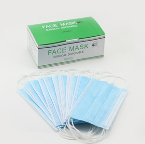 Disposable face mask disposable nonwoven face mask