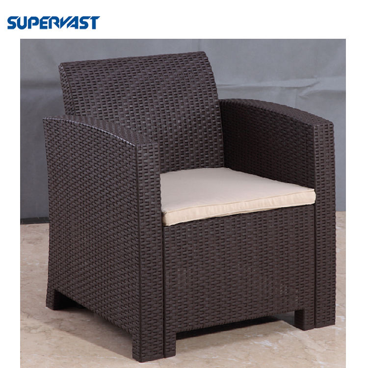 4PC Outdoor Garden Injected PE Plastic Furniture