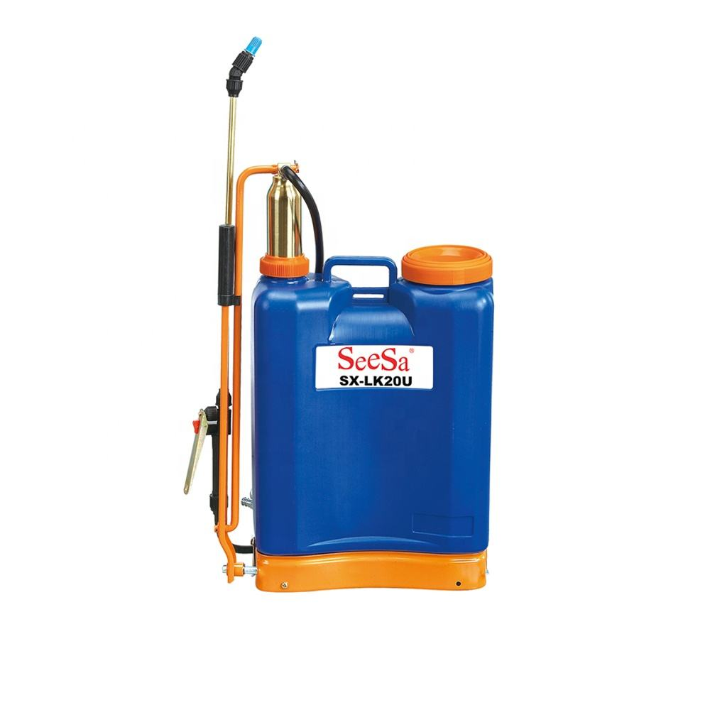 20 Liter Ransel Pestisida Manual Logam Sprayer