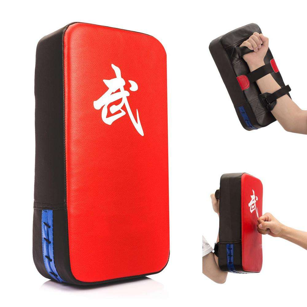 PU Leather Taekwondo Boxing hand karate training kick pads