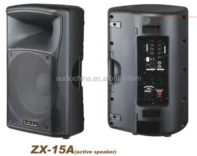 Famous Style ZX15A Active Plastic Speaker best audio china