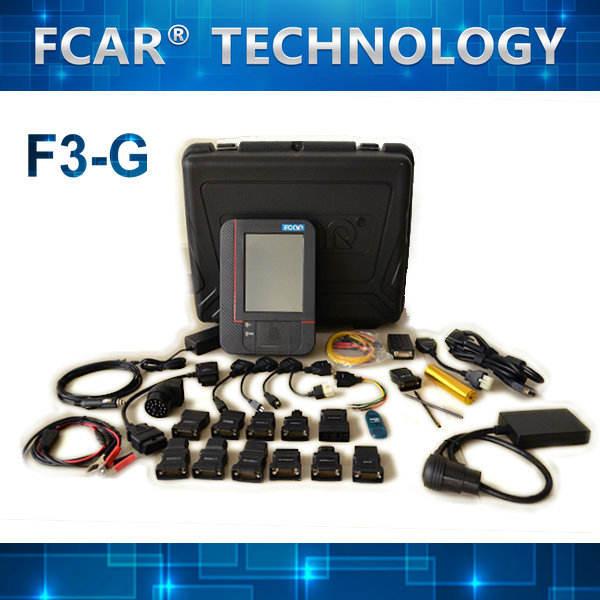 auto ferramentas de diagnóstico FCAR F3-G caminhões e car diagnóstico scanner, toyota, nissan, buick, ford, vw
