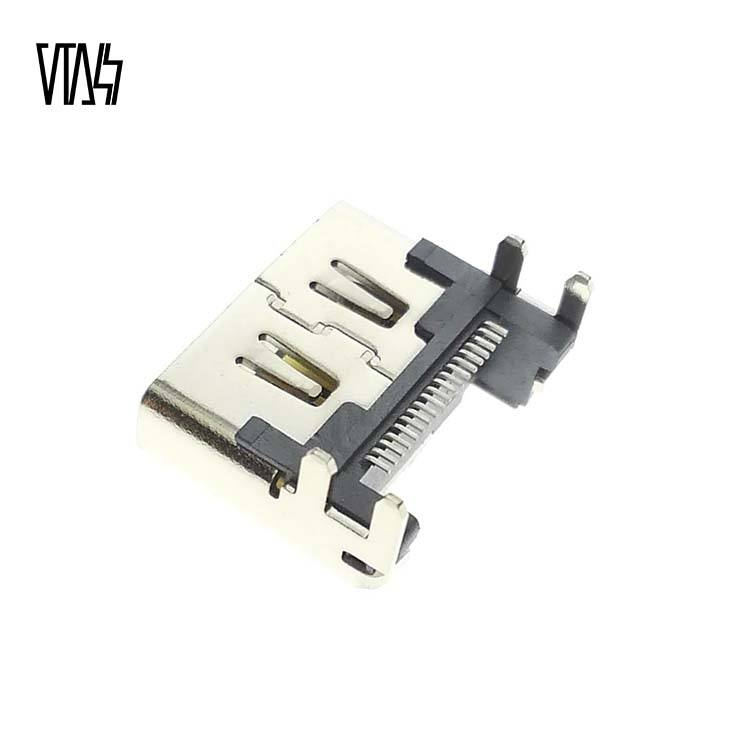 Video Port Socket Interface for Playstation 4 PS4 Console Connector Repair Part for Video Output