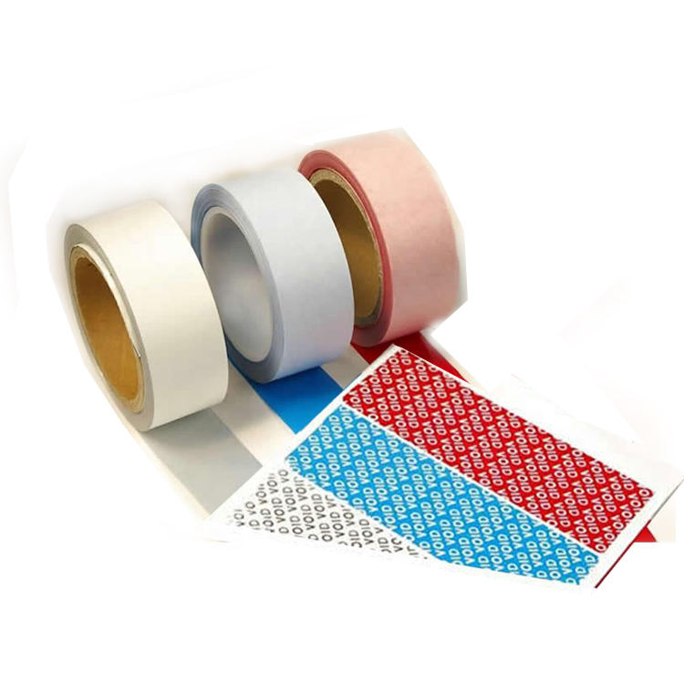 Vacío de seguridad garantía etiqueta engomada de la etiqueta de sello de seguridad etiquetas de residuos