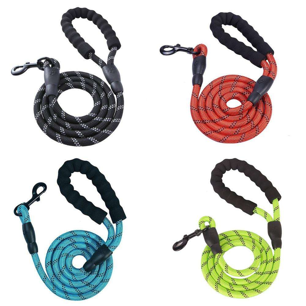 Amazon Best Selling Mountain Climbing Dog Leash Durable Rope Dog Lead Reflective Rope Pet Outdoor Sports Dog Leash