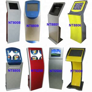Netoptouch 17inch computer kiosk cabinets/computer metal kiosk cabinets