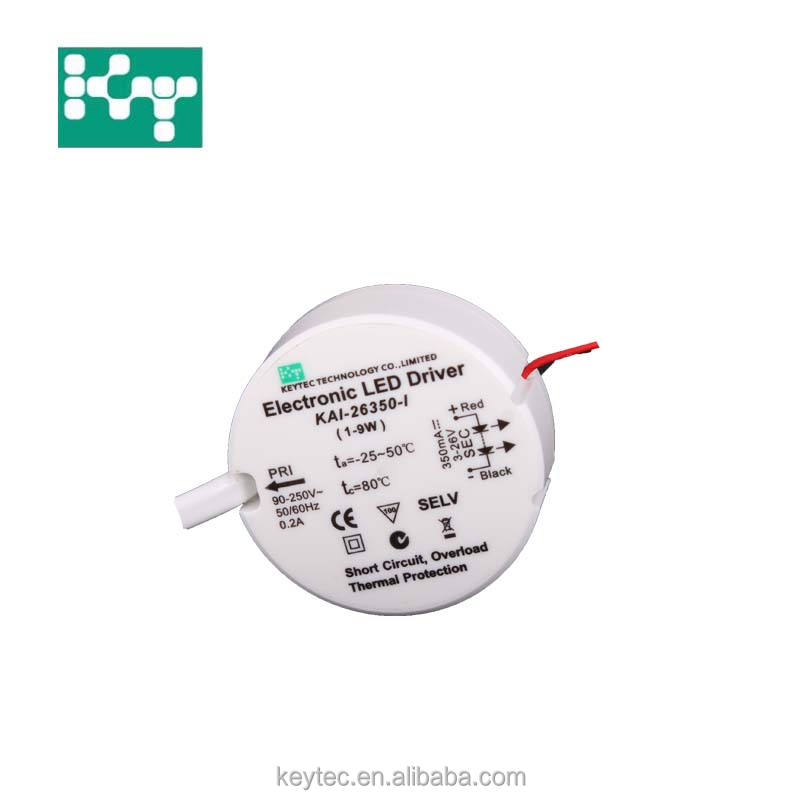 Constant Current Standard LED Driver 9W 350mA IP44