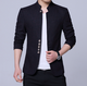 Chinese tunic suit full size men's stand collar blazer