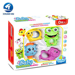 China Manufacturer baby rattles toys custom baby toy teether